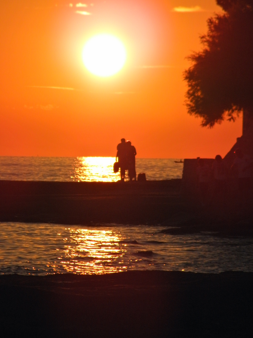 Sonnenuntergang in Novigrad 2