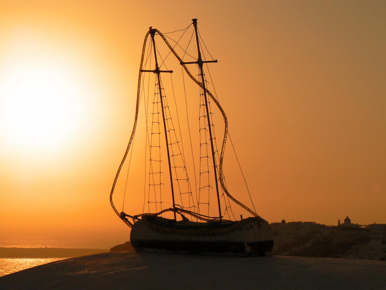 Sonnenuntergang in Oia 2007