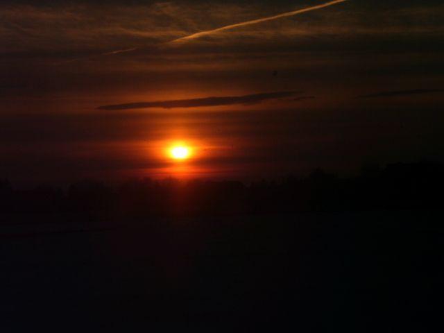 Sonnenuntergang in Ostfriesland