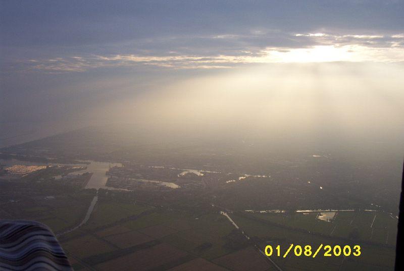 Sonnenuntergang in Ostfriesland !