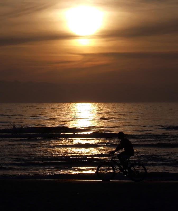 Sonnenuntergang in Palanga