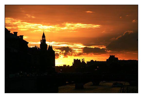 Sonnenuntergang in Paris II