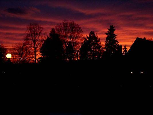 Sonnenuntergang in Pennsylvania