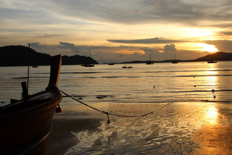 Sonnenuntergang in Phuket