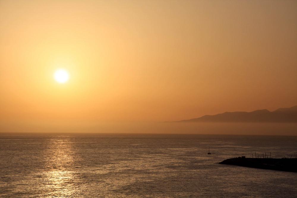 Sonnenuntergang In Puerto de Mogan
