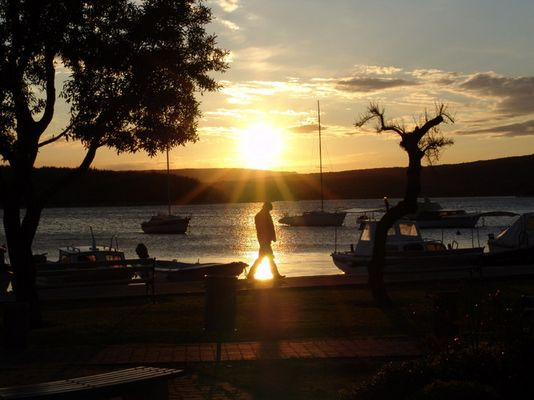 Sonnenuntergang in Punat/Insel Krk