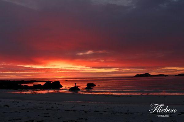 Sonnenuntergang in Ramberg