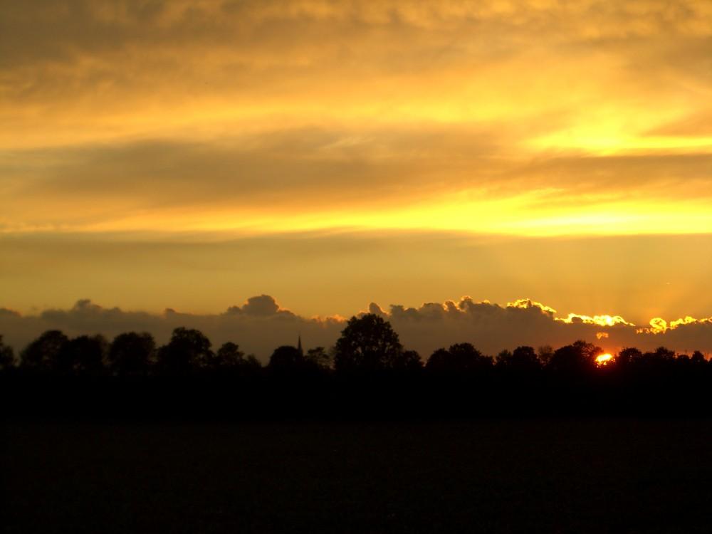 Sonnenuntergang in Rheinbach