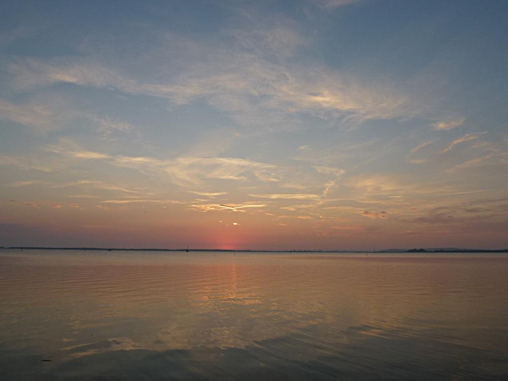 Sonnenuntergang in Schaprode