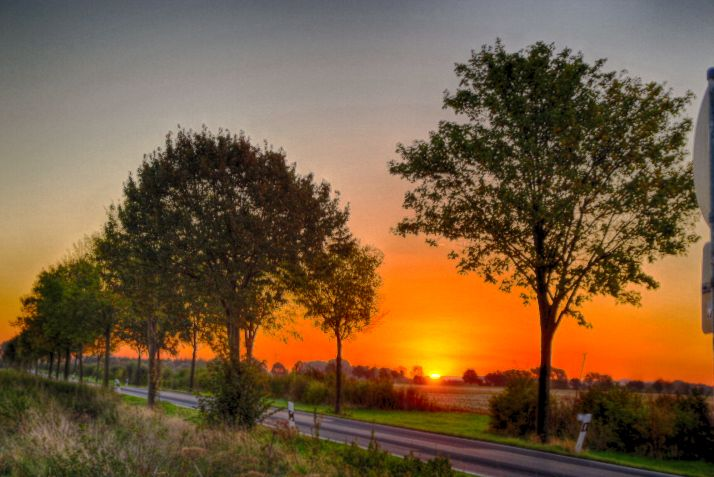 Sonnenuntergang in Schaumburg