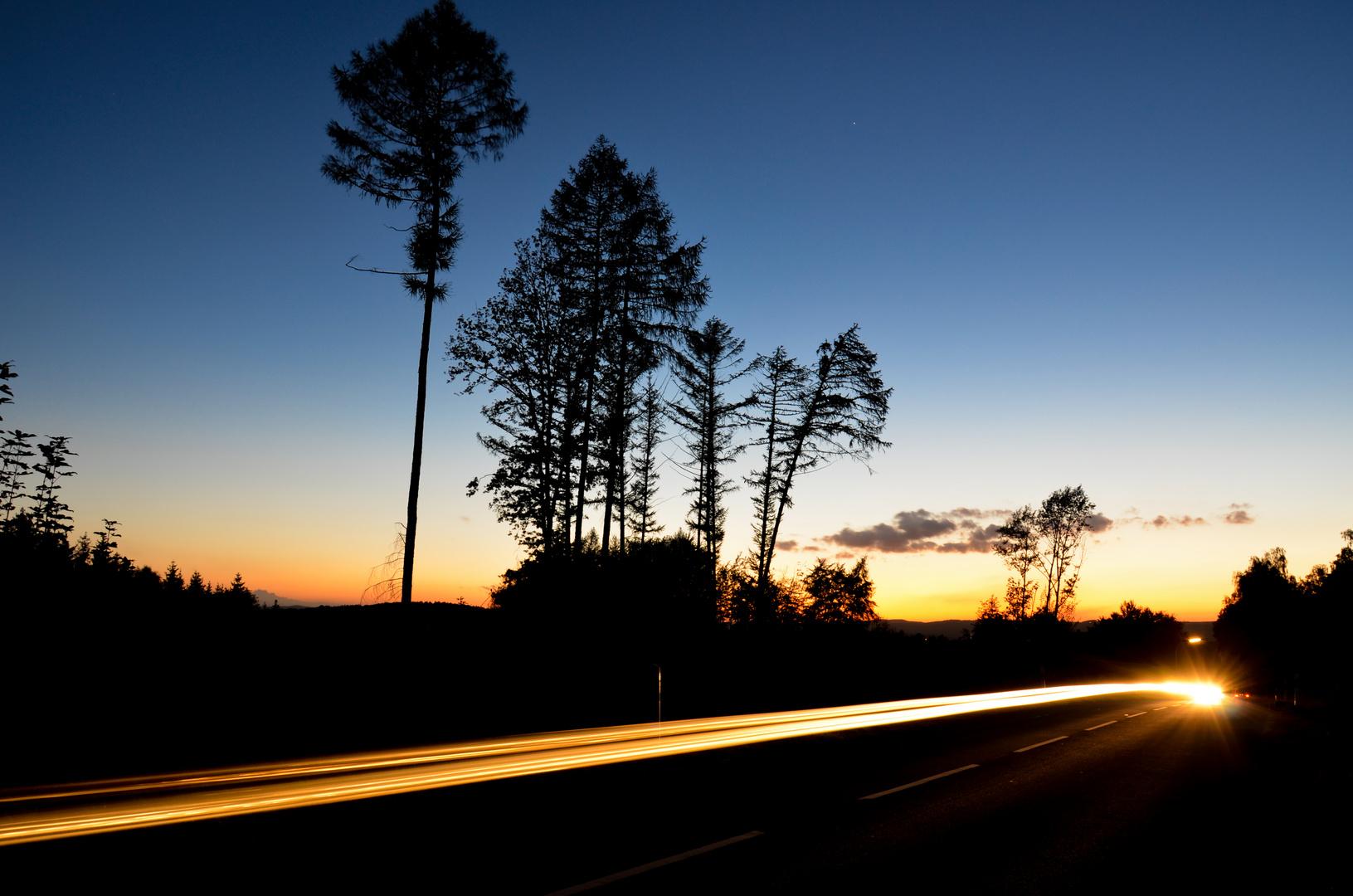Sonnenuntergang in Schwerte