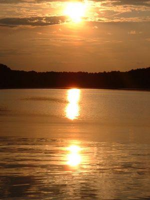 Sonnenuntergang in Slawa