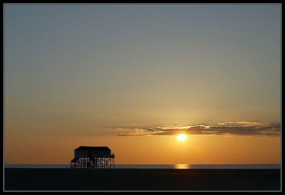 Sonnenuntergang in St.Peter-Ording