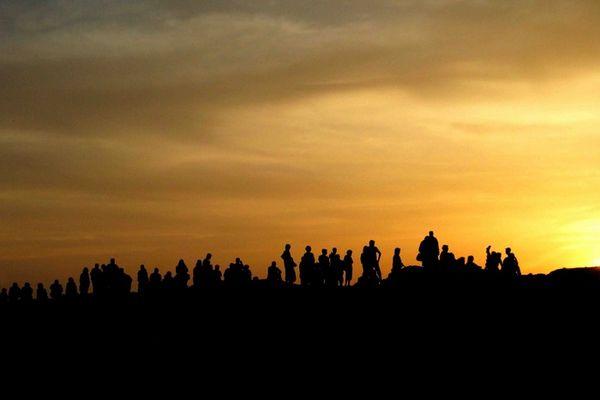 Sonnenuntergang in Syrien
