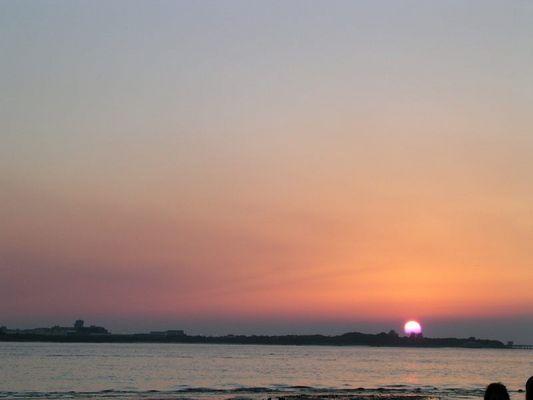 Sonnenuntergang in Taiwan (sunset in Taiwan)