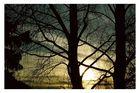 Sonnenuntergang in Teltow
