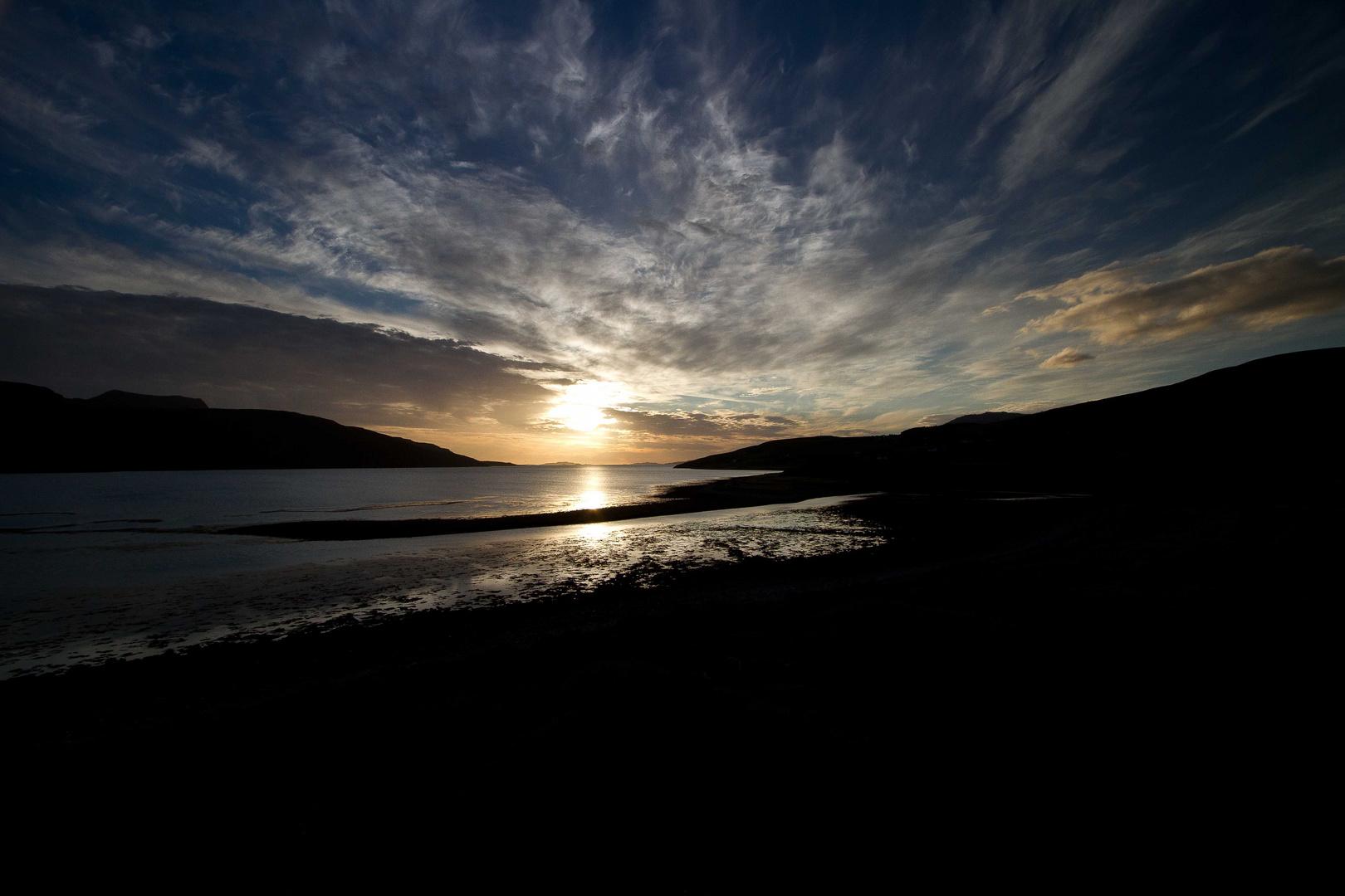 Sonnenuntergang in Ullapol