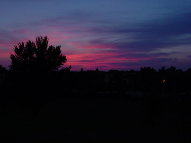 Sonnenuntergang in Ungarn Nr.2