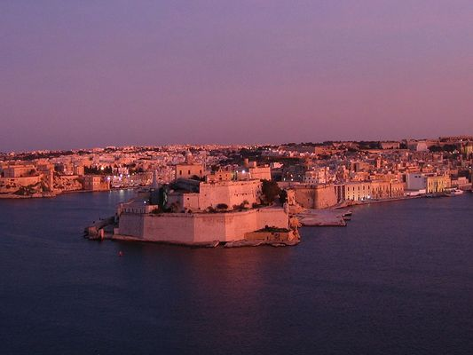 Sonnenuntergang in Valletta - 2