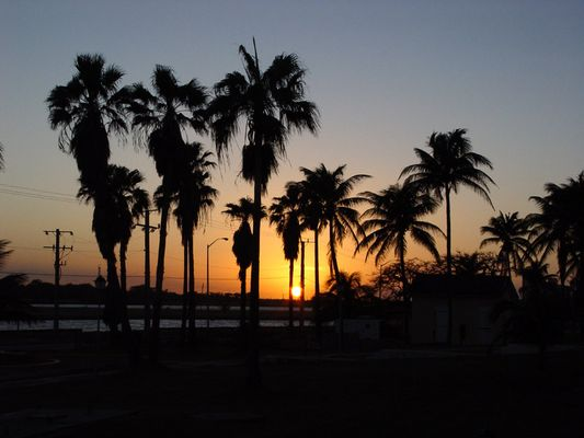 Sonnenuntergang in Varadero [Kuba]