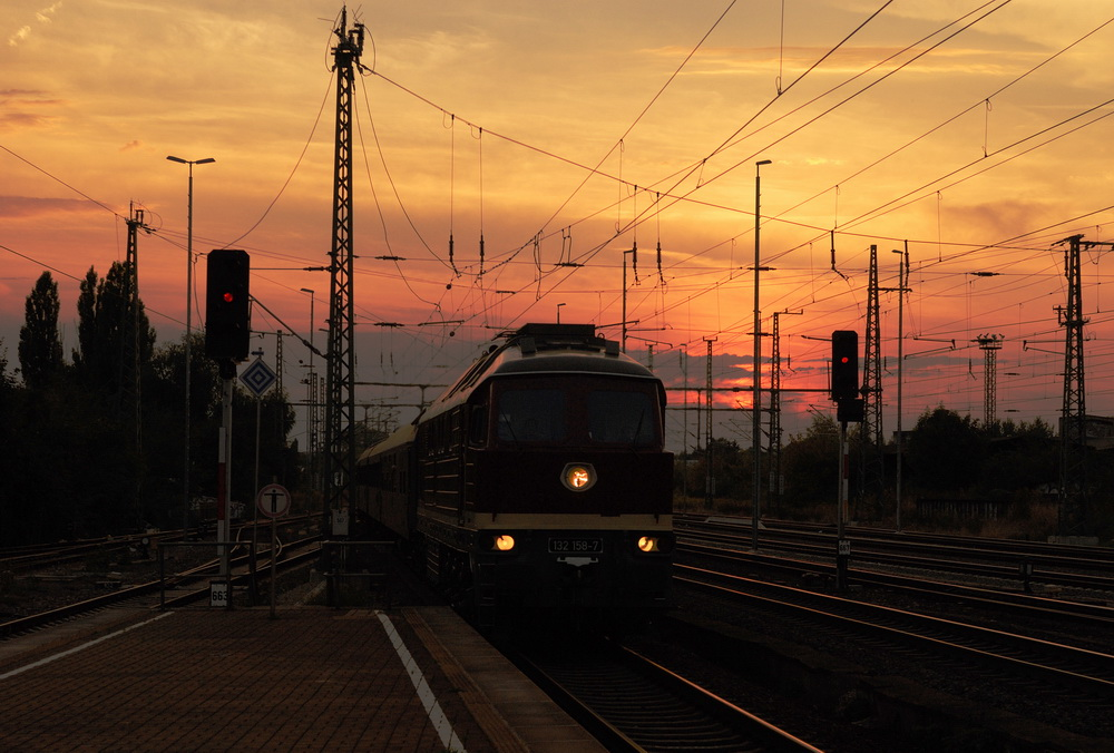 Sonnenuntergang in Weimar