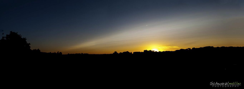 Sonnenuntergang in Wels