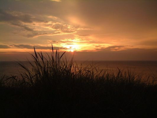 Sonnenuntergang in Wenningstedt