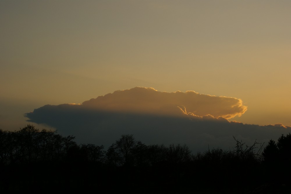 Sonnenuntergang in Weyhe