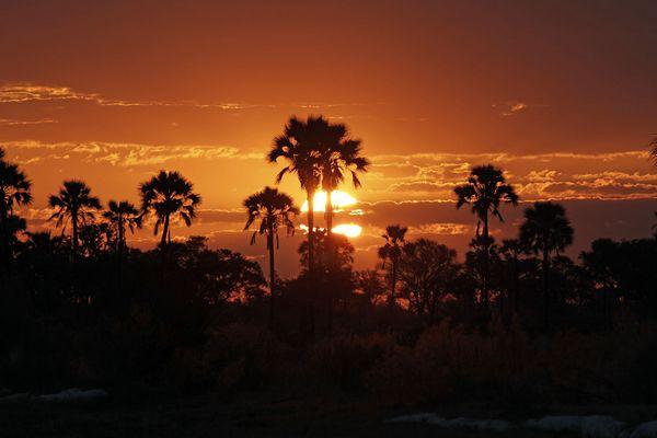Sonnenuntergang in Xigera