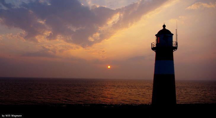Sonnenuntergang in Zoutelande.....