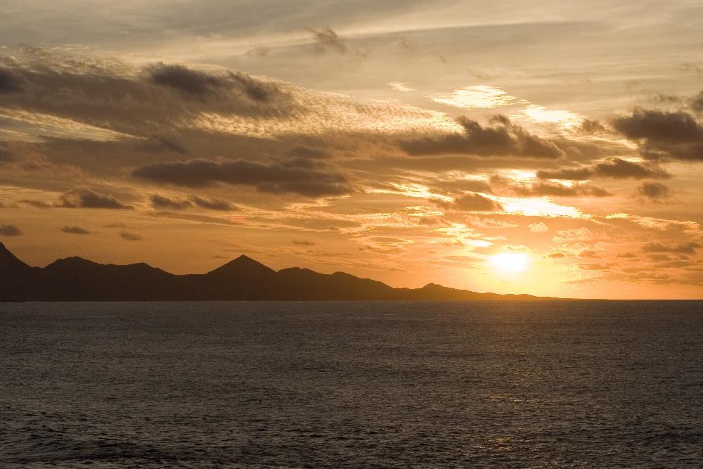Sonnenuntergang inj La Pared