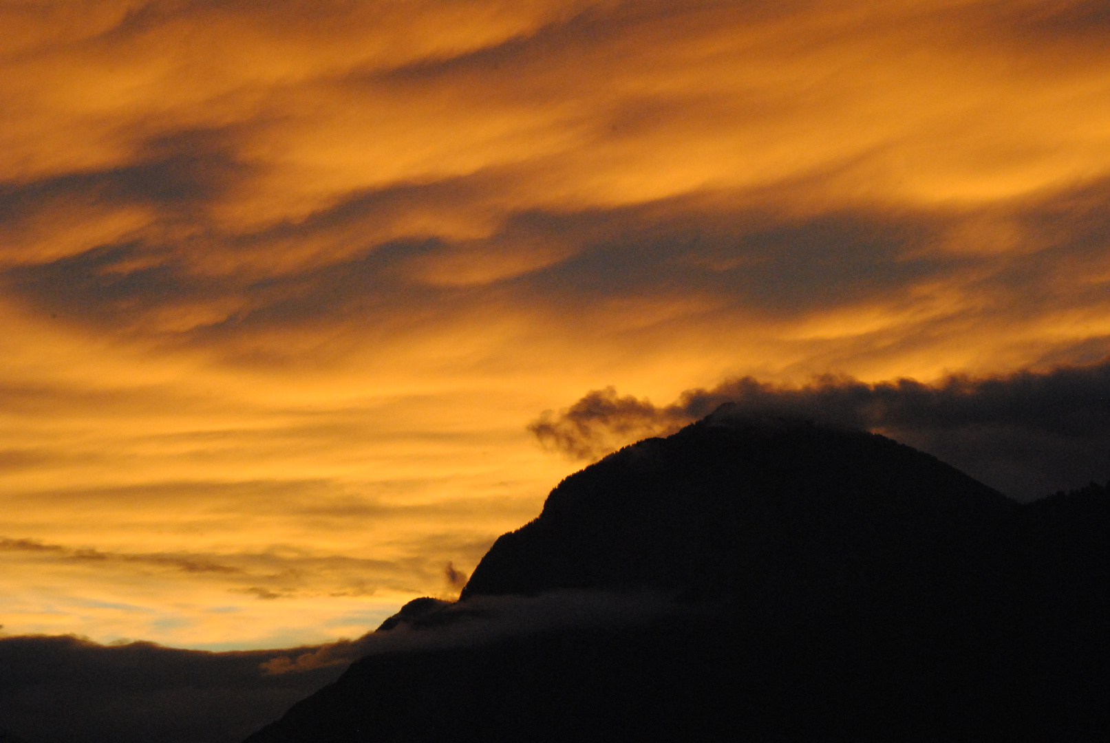 Sonnenuntergang-Innsbruck