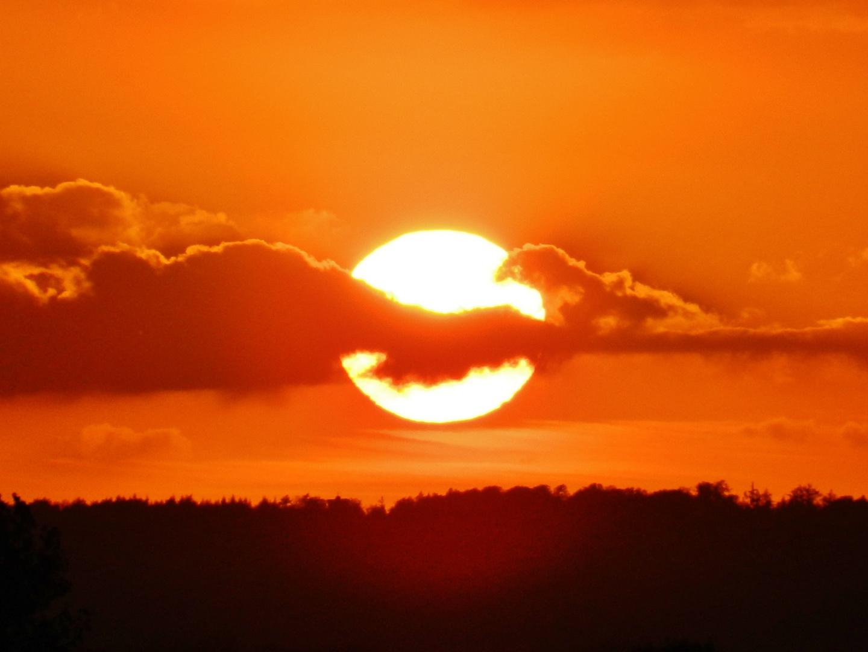 Sonnenuntergang intensiv