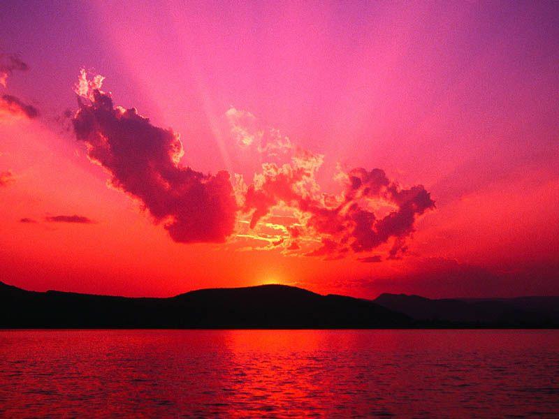 Sonnenuntergang Italien 2014