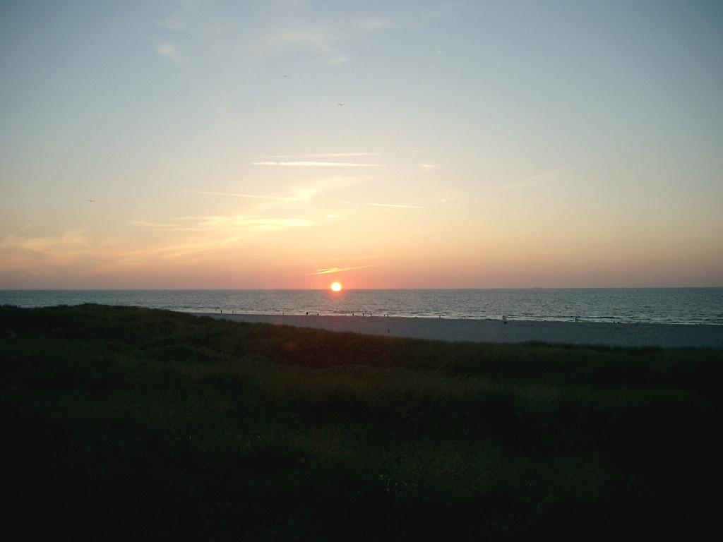 Sonnenuntergang Juist