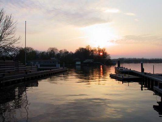 Sonnenuntergang Kaag ( Holland)