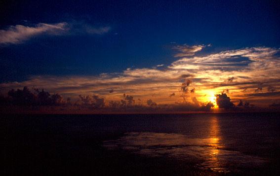 Sonnenuntergang Karibik 2