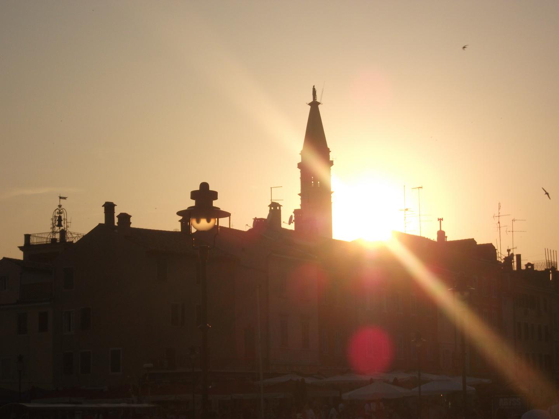 Sonnenuntergang Kirche