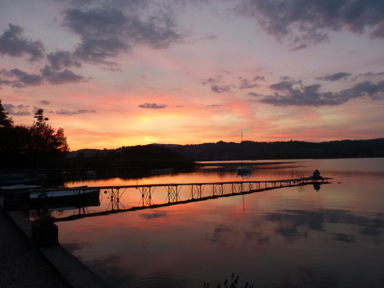 Sonnenuntergang, klassisch, kitschig, oder einfach nur schön