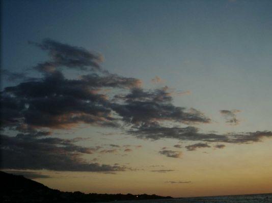 Sonnenuntergang - Korsika