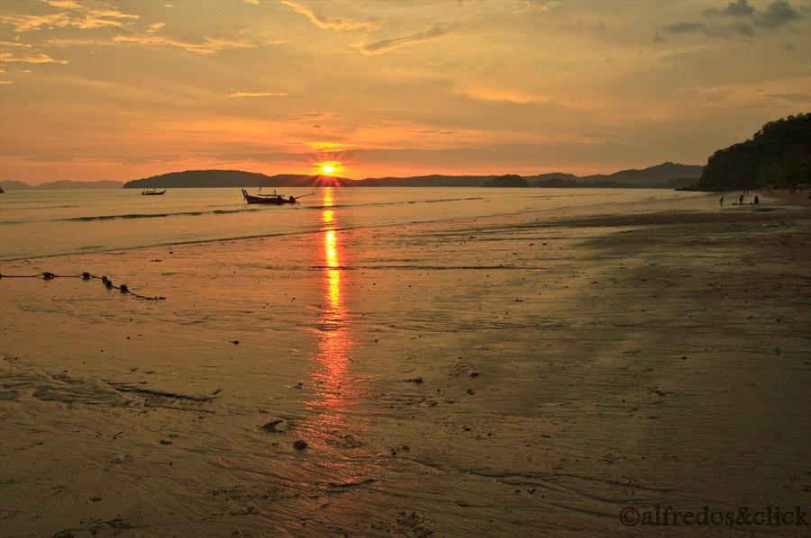 Sonnenuntergang Krabi/Strand