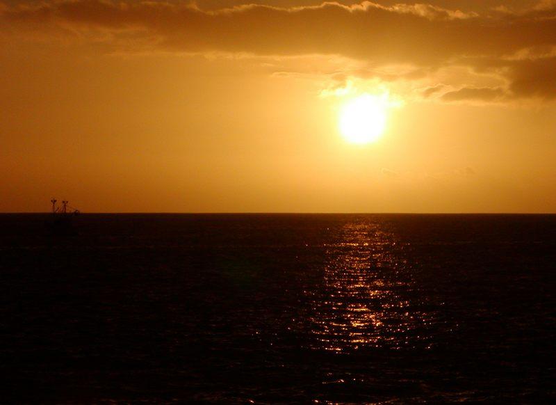 Sonnenuntergang La Palma, Kanaren