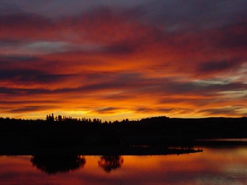 Sonnenuntergang Lake Tekapo