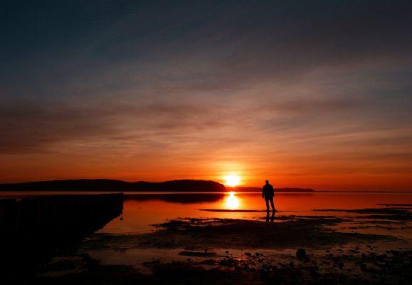 Sonnenuntergang Lietzow