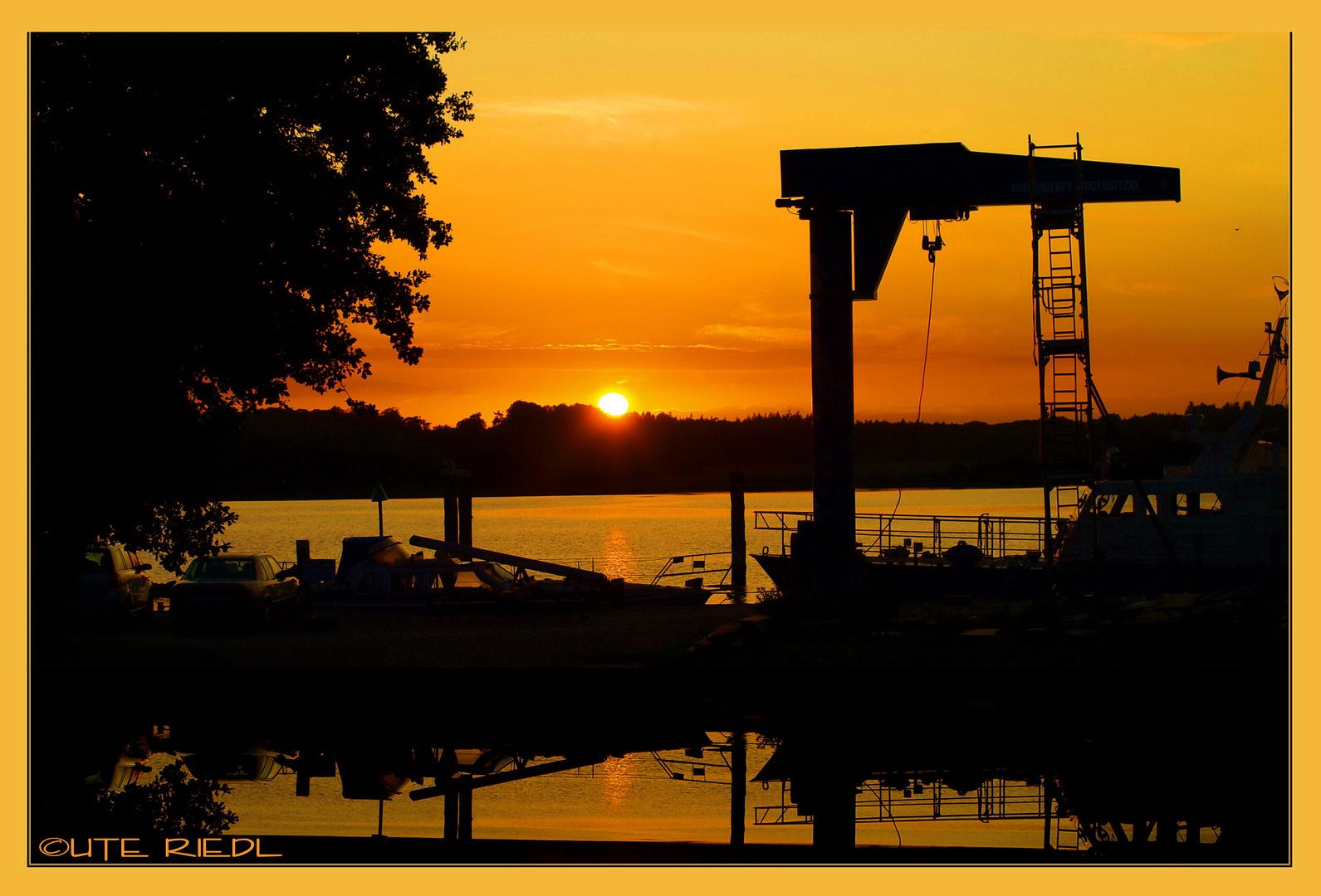 "Sonnenuntergang ""Maasholm"""