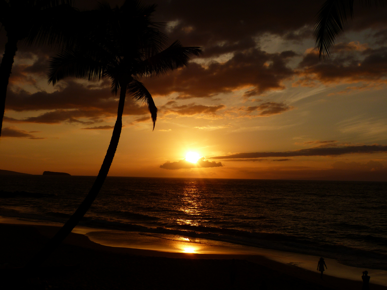 Sonnenuntergang Makena Beach