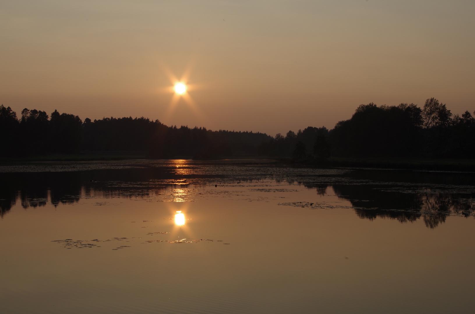 Sonnenuntergang mal 2
