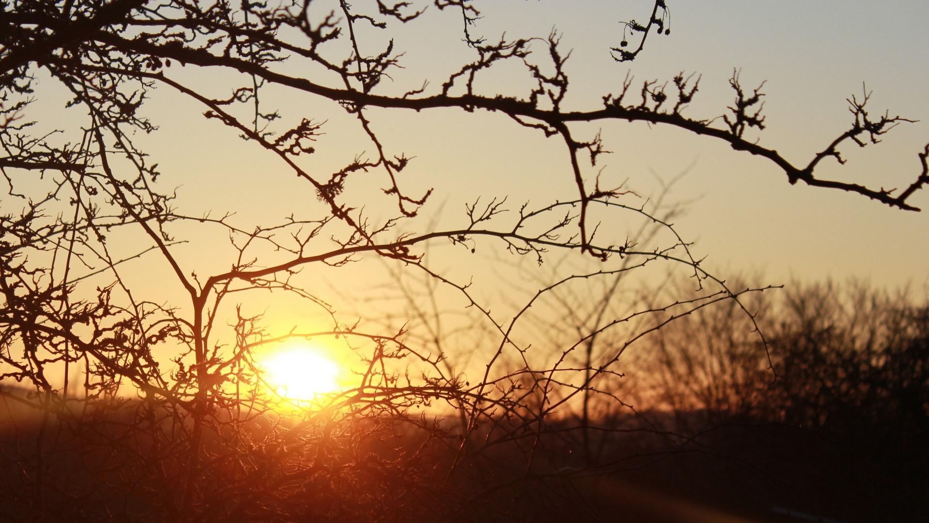 Sonnenuntergang mal anders..!