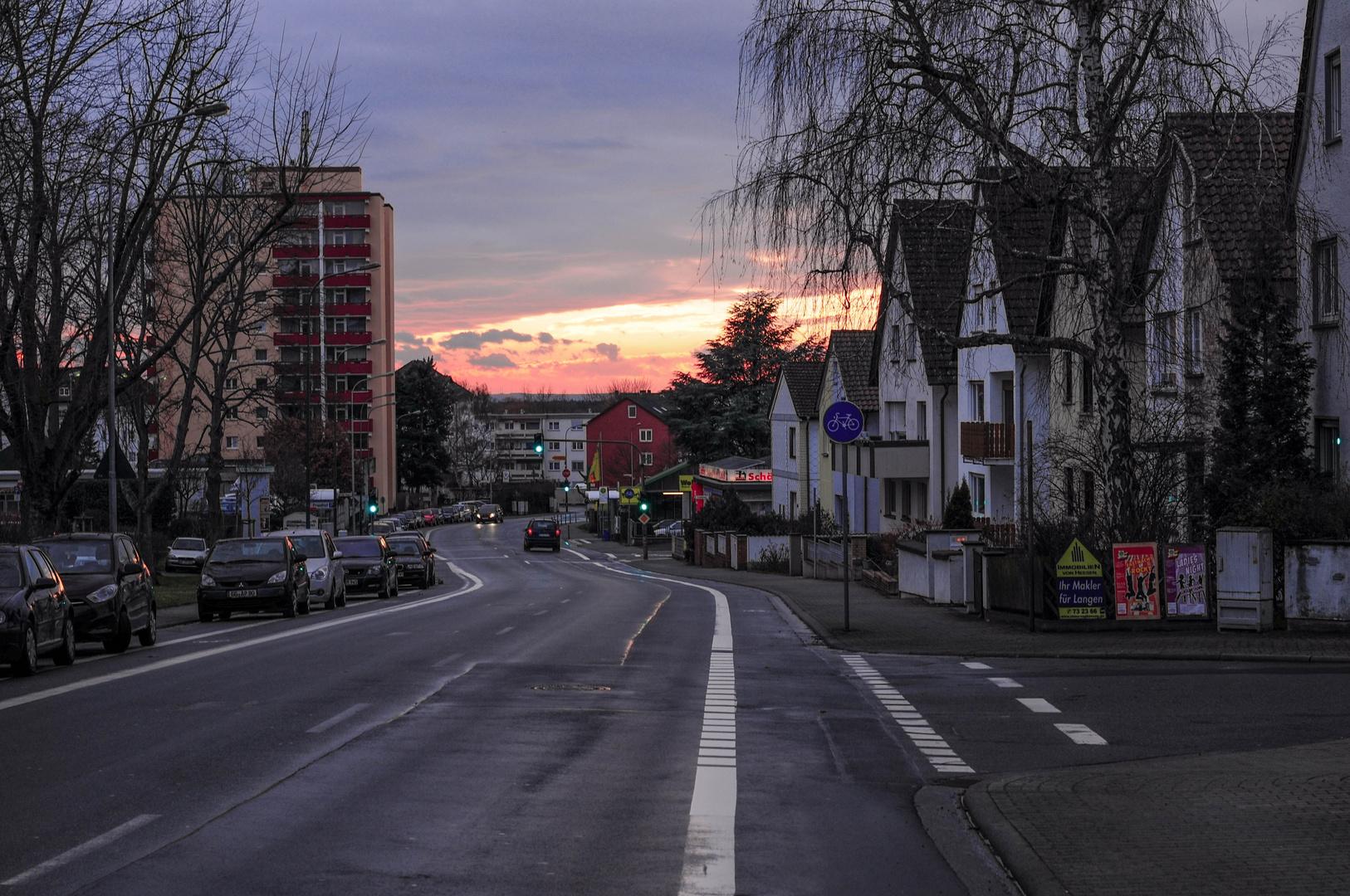 Sonnenuntergang mal anders ;-)