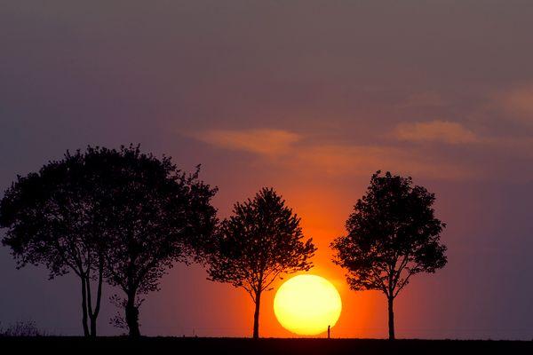 Sonnenuntergang - mal ein bisschen anders